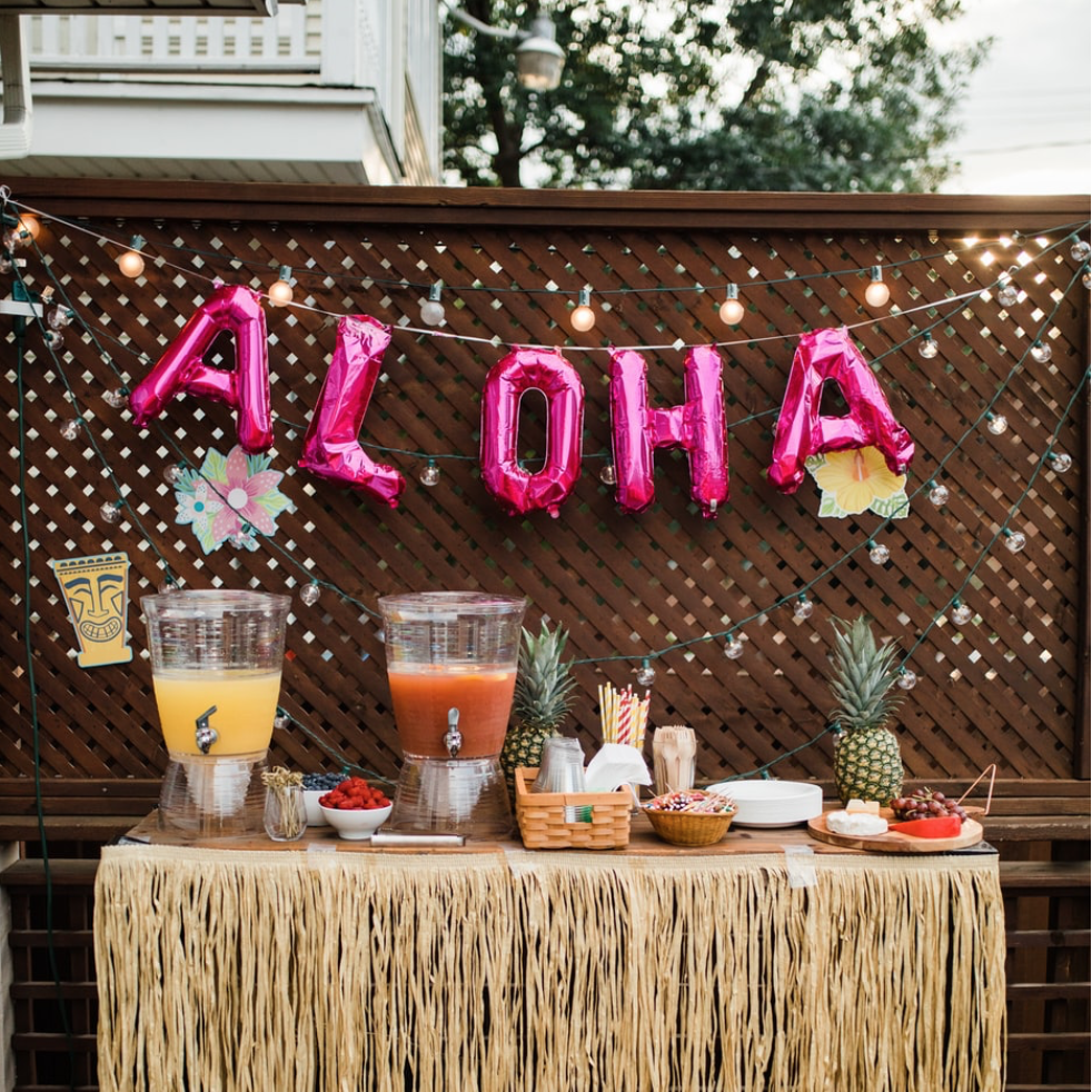 Once upon a time, aloha!