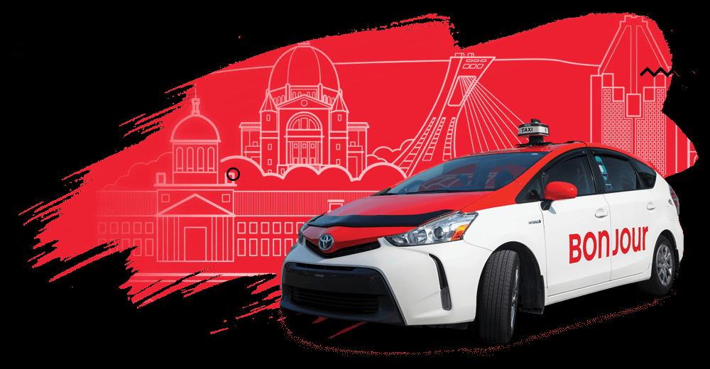 Bureau du Taxi de Montréal - Design et création pour le Bureau du taxi de Montréal
