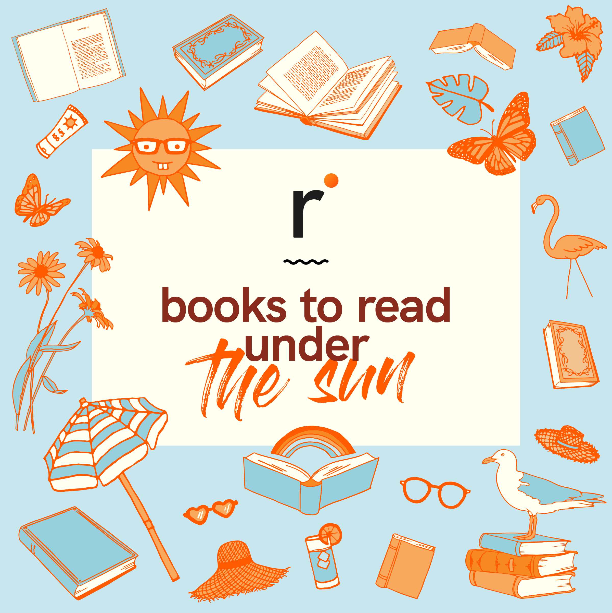Books to read under the sun